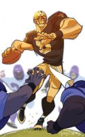 Drew Brees by KharyRandolph