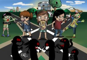 The Zombie Attack by habituals