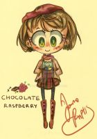 Chocolate Raspberry- Fruit Fashion Line by Chibi-Joey
