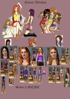 Funny Witches Sims 3 Meme by yryahuln