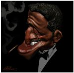 Sammy Davis Jr. by ANDRESCOUTURIER