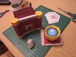 WIP: papercraft Pictobox by ConsuJay