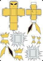 Jolteon Cubee by klebers