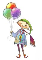 Maymoon and The 100 Balloons - storybook by Sura-Ghazwan