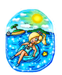 Rosalina floating buoy by ninpeachlover