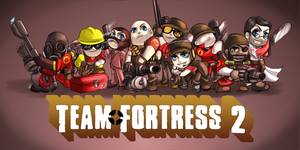+TEAMFORTRESS2CHIBIS+ by DarkLitria