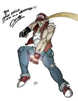 Terry Bogard by Chimy-The-Zombie