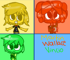Request: Martin, Wallace And Vincio by princessforever14