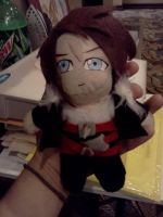 Squall Plushie by ChihayatheBlackAngel