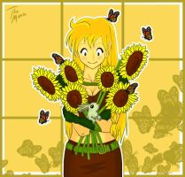 Sunflowers and Sunshine by TheMim
