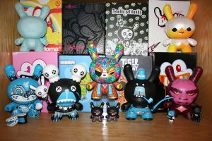 Dunny 2nd Shelf by shuijingfantasy