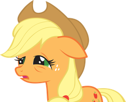 Tired Applejack by FabulousPony
