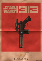 Star Wars 1313 Poster by NickatNite89
