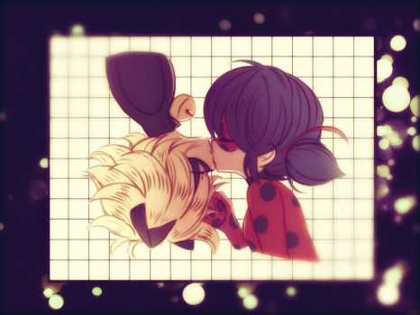 Ladybug and Cat Noir by HarrietIzzy