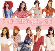 20132011- Pack PNG RENDER SNSD #1 by zinnyshs