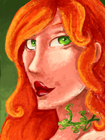 Poison Ivy - MS Paint by tite-pao