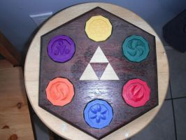 Sage Medallion Temple Plaque by ChinookCrafts