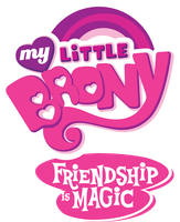 My Little Brony Logo by OverlordNeon