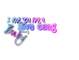 Png Love you like a love song by DeestinyGhost