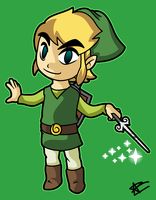 Toon Link! by mporkyp
