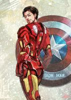 Marvel's The Avengers- Iron man by evilwinnie