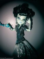 Monster High Ghoul's Rule: Frankie TWo by Childofwestwind
