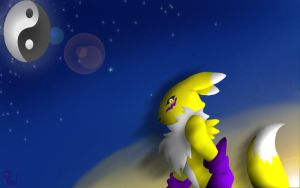 Renamon by WrenShimmamora