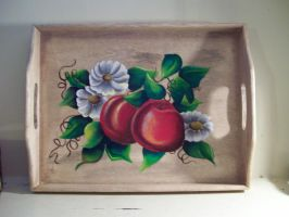 Apple Tray by untitledlullabyx