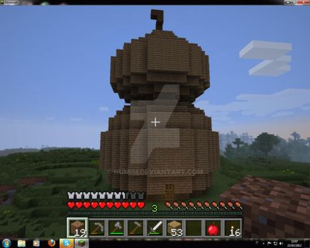 Minecraft: Gourd House by Numisi