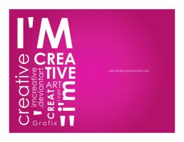 I'm Creative Pink by imcreative