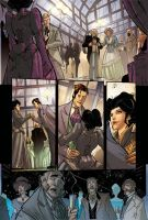 STEAMPUNK LADY SPIDER pg 2 - from Spider-Verse 1 by DenisM79