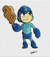 Megaman Windwaker by MegaRyan104