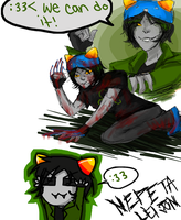 Nepeta : Be awesome by poisodon