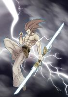 Light Master Swordsman by Orcaleon
