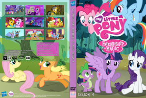 My Little Pony Season 4 Unofficial DVD Cover by DaMagics