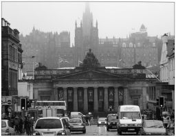 Edinburgh by enaz-blue