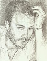 Heath Ledger sketch 4 by bcstroud