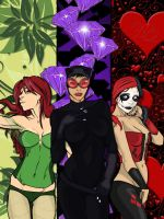 Revised Gotham Sirens by crost92
