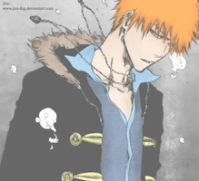 Ichigo's on-in the ? by Jna-dsg