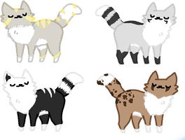 Free cats adopts closed! by AhriAdopts