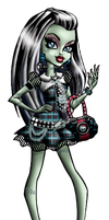 Monster High - Frankie Stein! by Ashleykat