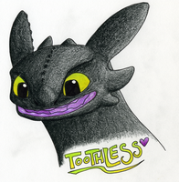Toothless-LUV by CavySpirit