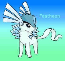 Fan-Made Featheon by Bluekiss131