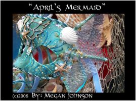 'April's Mermaid' mask by EMasqueradeGallery
