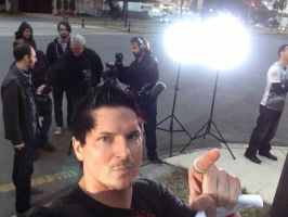 Promo shoot for Travel Channel...look there's Nick by MJandGhostAdventures