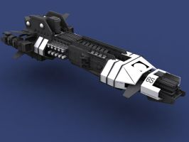 THUNDERCHILD 3D Studio Model by proteus6007