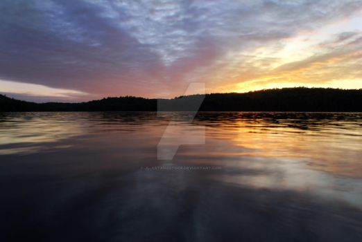Stock: Lake At Sunset by JL-ArtandStock