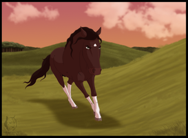 TotH - The Lead Stallion by WyldeElyn