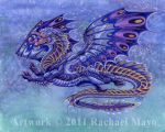 Saltar dragon design by rachaelm5