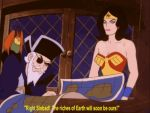 A Hypnotized Wonder Woman With Sinbad Animation by The-Mind-Controller